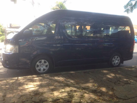 Rent Toyota Hiace in Padang